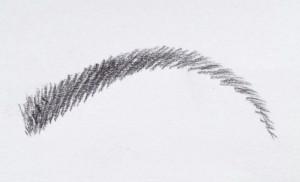 augenbrauenform für herzförmige gesichter