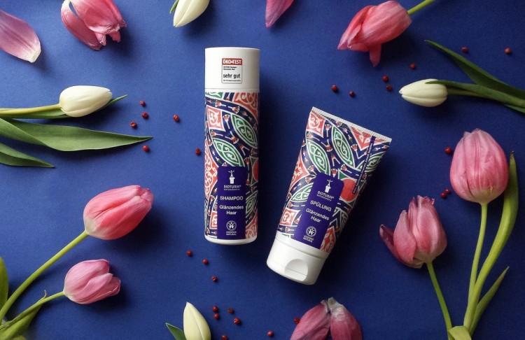 karosophies naturkosmetik glanzstücke bioturm glanz shampoo und spülung