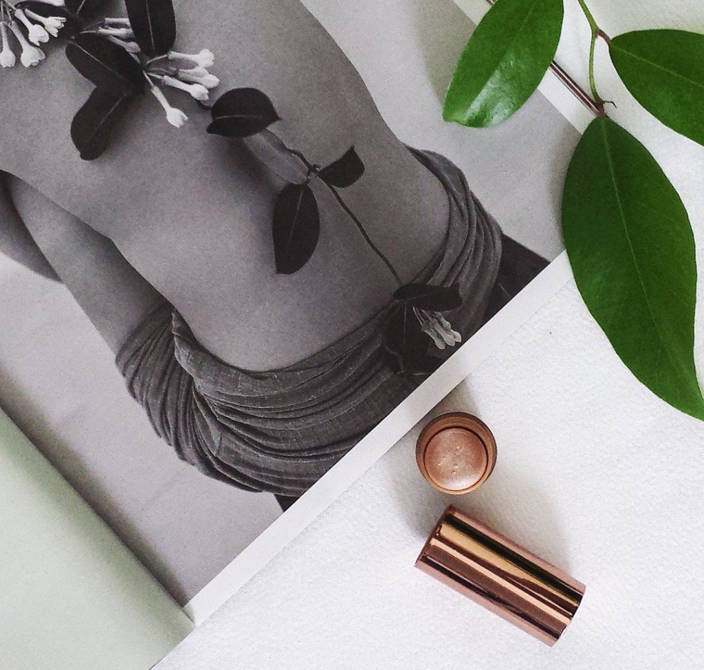 karosophies naturkosmetik blog you are my highlight highlighter stick nudebynature champagne make-up